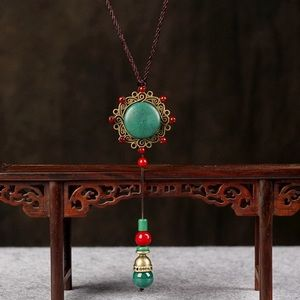 Jewelry - Long Flower Maxi Necklace